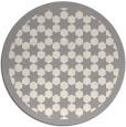 rug #1329548 | round beige borders rug