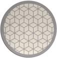 rug #1329588 | round beige borders rug