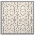 rug #1329596 | square beige borders rug