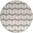 rug #1329648 | round beige gradient rug