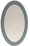 rug #1329740 | oval plain beige rug