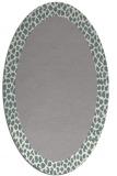rug #1329783 | oval plain rug