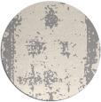 rug #1330088 | round beige faded rug