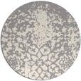 rug #1330208 | round beige faded rug