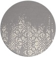 rug #1330308 | round white faded rug
