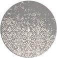 rug #1330348 | round white popular rug
