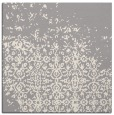 rug #1330356 | square white graphic rug