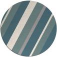 rug #1330428   round white stripes rug
