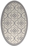rug #1330460   oval white borders rug