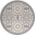 rug #1330488 | round beige borders rug