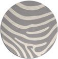 rug #1330508 | round beige animal rug