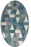 rug #1330700 | oval beige popular rug