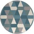 rug #1330708   round beige retro rug
