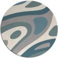 rug #1331268   round beige abstract rug