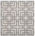 rug #1331296 | square beige check rug