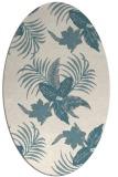 rug #1331400 | oval beige natural rug