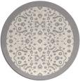 rug #1331528 | round beige borders rug