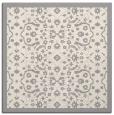 rug #1331536 | square beige damask rug