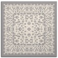 rug #1331776 | square white natural rug