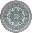 rug #1331828 | round beige borders rug