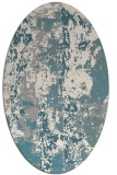 rug #1331880   oval white abstract rug