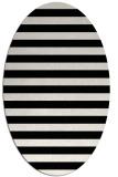 rug #163769 | oval black retro rug