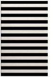 rug #163853 |  white stripes rug