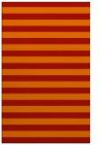 rug #164093 |  red retro rug