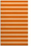 rug #164109 |  red-orange retro rug