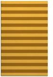 rug #164153 |  yellow stripes rug