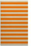 rug #164165 |  orange stripes rug