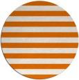 rug #164393 | round orange stripes rug