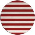 rug #164449 | round red retro rug
