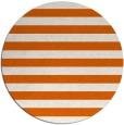 rug #164469 | round red-orange retro rug