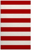 rug #167609 |  red stripes rug