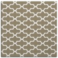 rug #168425 | square white geometry rug