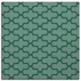 rug #168481 | square blue-green rug