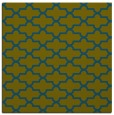 rug #168485 | square green traditional rug