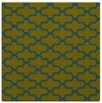 rug #168485 | square blue-green popular rug