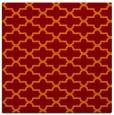 rug #168613 | square orange popular rug