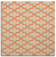 rug #168621 | square orange traditional rug