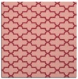 rug #168641 | square pink traditional rug