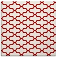rug #168665 | square red traditional rug