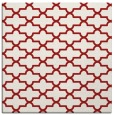 rug #168673 | square red traditional rug