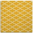 rug #168713   square yellow traditional rug