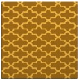 rug #168729 | square yellow traditional rug