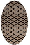 rug #168789 | oval black traditional rug