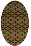 rug #168893 | oval black geometry rug