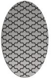 rug #168977 | oval red-orange traditional rug