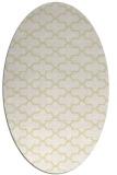 rug #169069 | oval white traditional rug